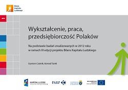 Wykształcenie, praca, przedsiębiorczość Polaków