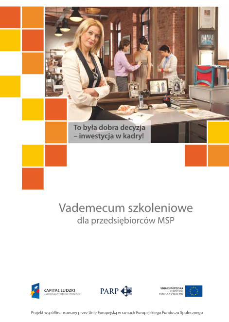Vademecum szkoleniowe dla przedsiębiorców MSP