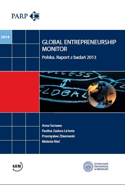 Global Entrepreneurship Monitor Poland - 2013 (EN)