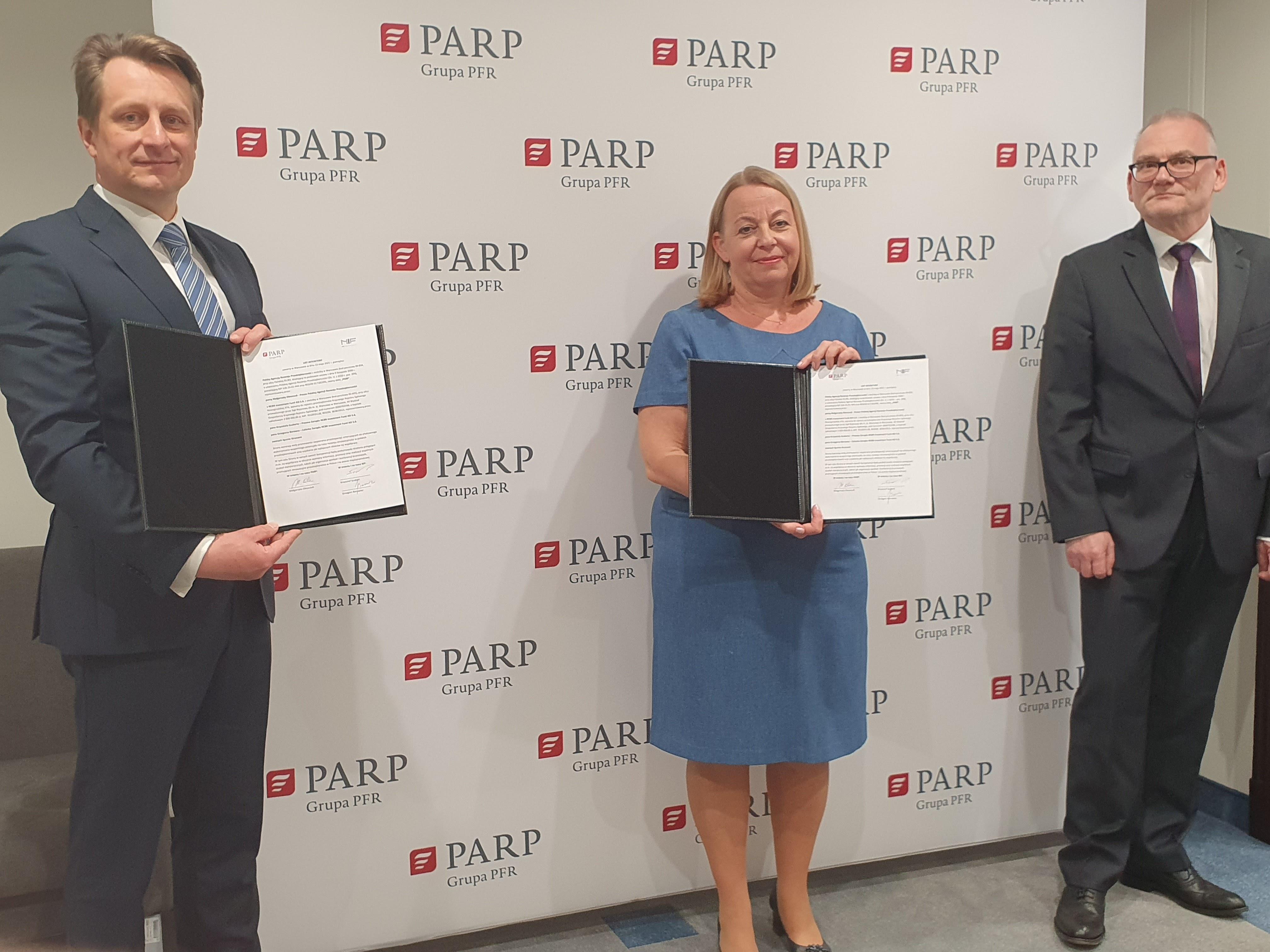 Wsparcie dla rozwoju innowacyjności MŚP – współpraca PARP i NCBR Investment Fund