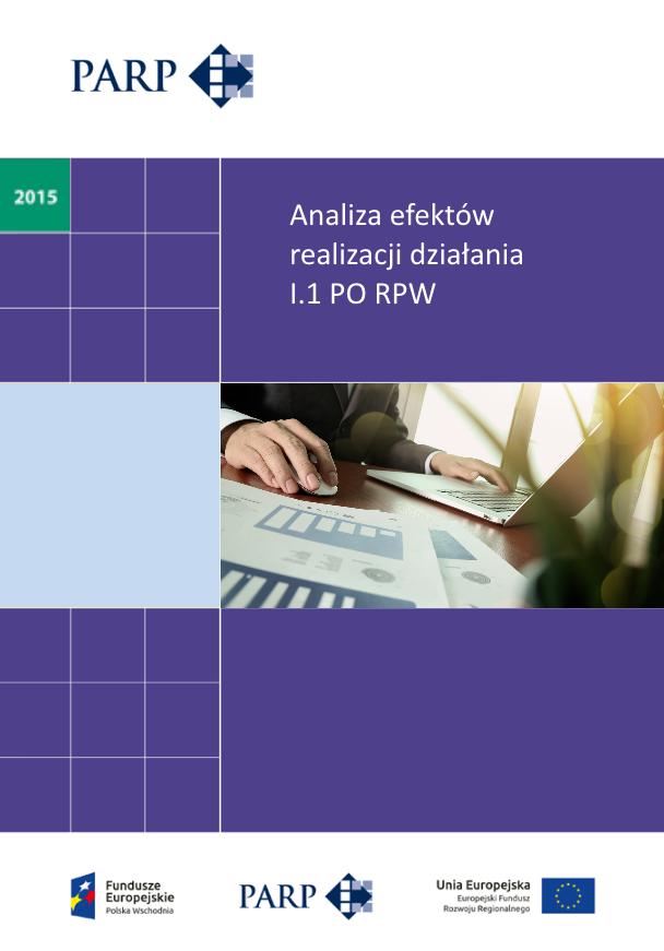 Analiza efektów realizacji działania I.1 PO RPW